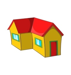 Real estate icon cartoon style vector