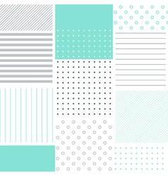 Abstract patchy pattern and cover backdrop vector