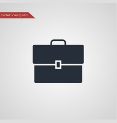 case icon simple vector image vector image