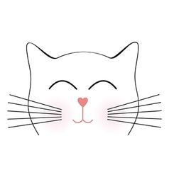 Cat8 vector image vector image