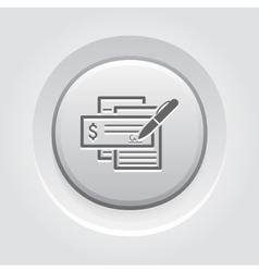 Document flow icon vector