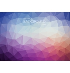 Abstract violet triangle shapes backgound vector image vector image