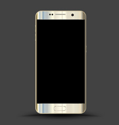 realistic smartphones mockups vector image