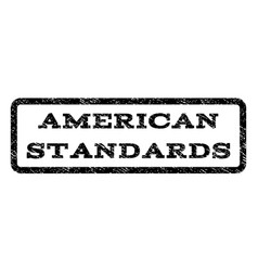 American standards watermark stamp vector