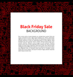Black friday paper template vector