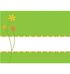 green card vector image