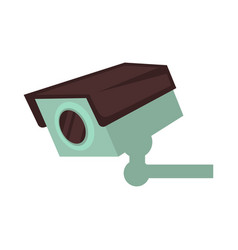 night club security surveillance camera vector image vector image