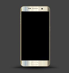 Realistic smartphones mockups vector