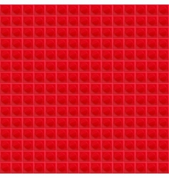 Red Pattern Tetrahedral Mosaic vector image