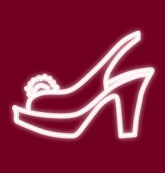 the image of women s sandals vector image