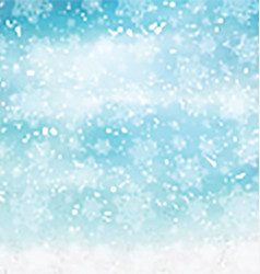 watercolor christmas snowflakes 2410 vector image