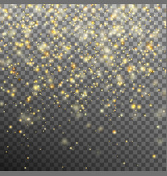 Star dust sparks in explosion eps 10 vector
