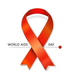 Aids ribbon vector