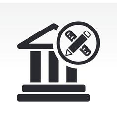 historical design icon vector image