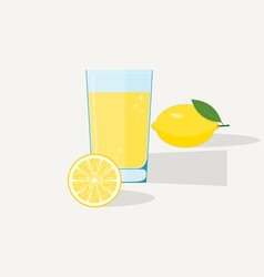Limon juice vector