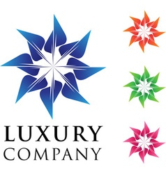 beautiful luxury business emblem design with varia vector image vector image