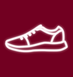 image of sneakers vector image