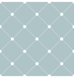 Modern Seamless Blue and White Pattern vector image