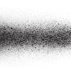 Spray painted gradient detail in black over white vector