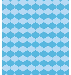 seamless blue pattern with blue figures vector image