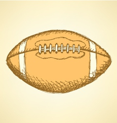 Us football ball vector