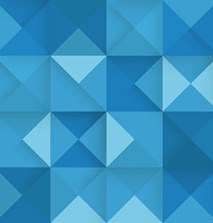 Abstract square blue background vector