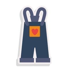 baby clothes design vector image