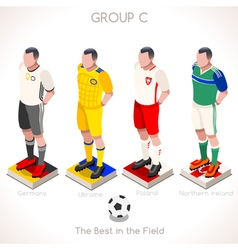 Euro 2016 championship group c vector