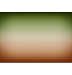 Green Brown Gradient Background vector image vector image