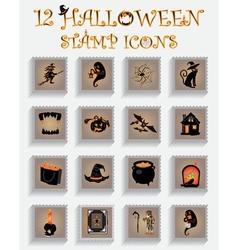 Halloween mark vector image vector image