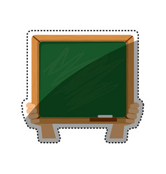 school blackboad isolated vector image vector image