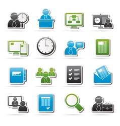 Business presentation and Project Management icon vector image