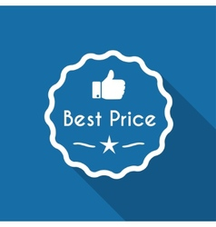Best price vector image