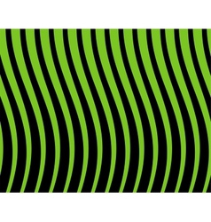 black and green striped background vector image vector image
