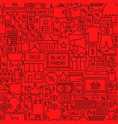 Black friday tile pattern vector