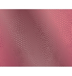 Pink snake skin imitation background vector