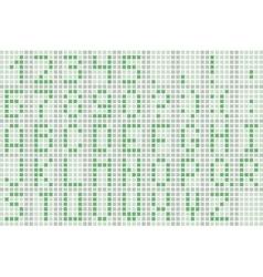 Pixel green font vector