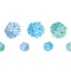 Set of blue baby boy birthday party paper vector