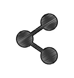 Sharing social symbol vector
