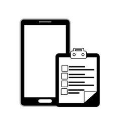 Smartphone techonology device vector