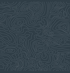 Topographic map on dark blue background vector