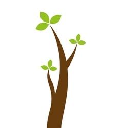 tree autumn isolated icon vector image