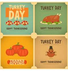 Thanksgiving day vector