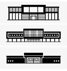 Hypermarket vector image