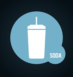beverage icon vector image vector image