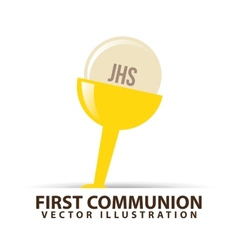 catolic symbol vector image vector image