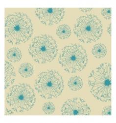 dandelion texture vector image vector image