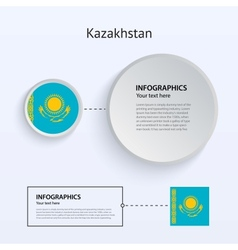 Kazakhstan country set of banners vector