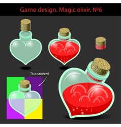Magic elixir in different vector