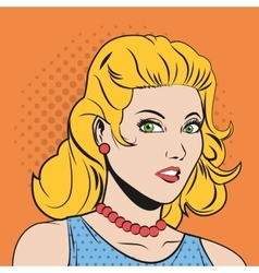 People design Pop art icon Retro and Colorfull vector image